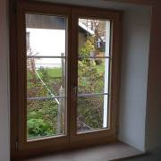 Holzfenster Natur
